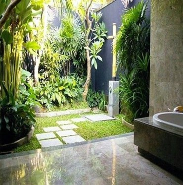 Best Ideas For Outdoor Bathroom Design 37