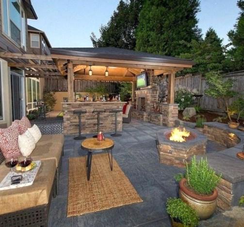 Cheap And Easy DIY Outdoor Bars Ideas 06