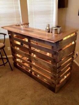Cheap And Easy DIY Outdoor Bars Ideas 15