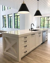 Classy Wooden Kitchen Island Ideas For Your Kitchen 38