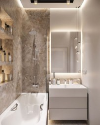 Comfy Bathroom Design Ideas With Shower Concept 47
