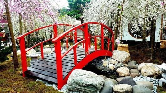 Cool Garden Bridge Ideas You Will Totally Love 21