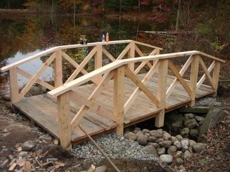 Cool Garden Bridge Ideas You Will Totally Love 25