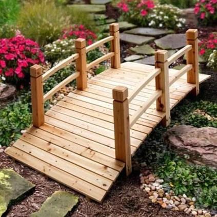 Cool Garden Bridge Ideas You Will Totally Love 46