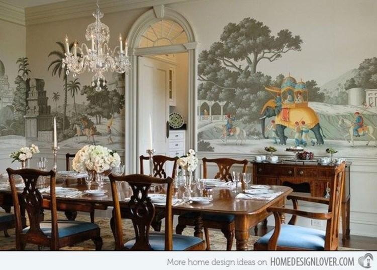 Cozy Asian Dining Room Design Ideas 12