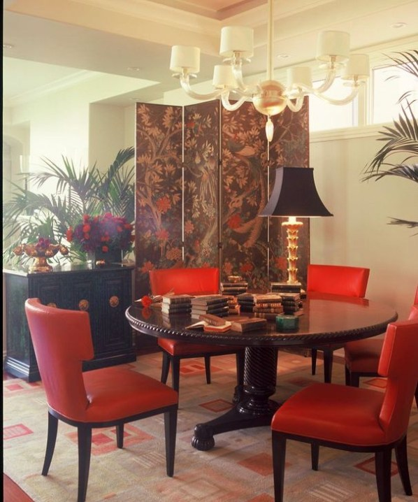 Cozy Asian Dining Room Design Ideas 19