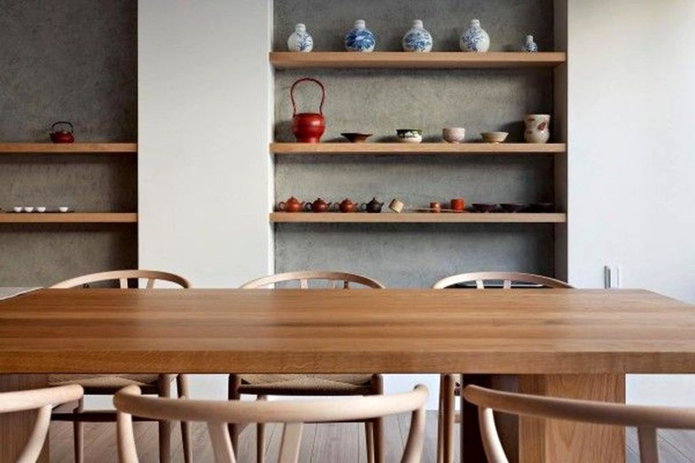 Cozy Asian Dining Room Design Ideas 55