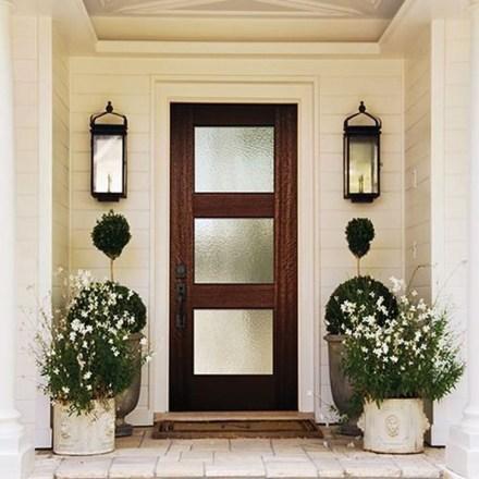 Creative Front Door Flowers Pot Ideas 02