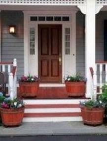Creative Front Door Flowers Pot Ideas 05