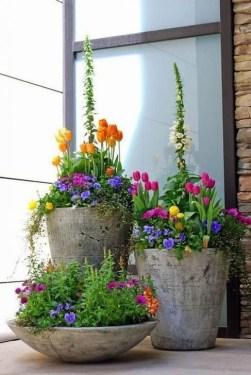 Creative Front Door Flowers Pot Ideas 32