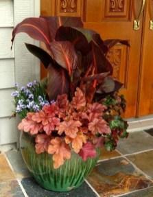 Creative Front Door Flowers Pot Ideas 48