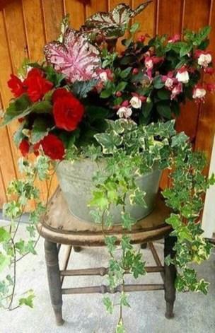Creative Front Door Flowers Pot Ideas 51
