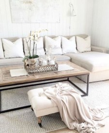 Easy And Simple Neutral Living Room Design Ideas 22