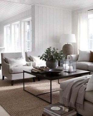 Easy And Simple Neutral Living Room Design Ideas 26