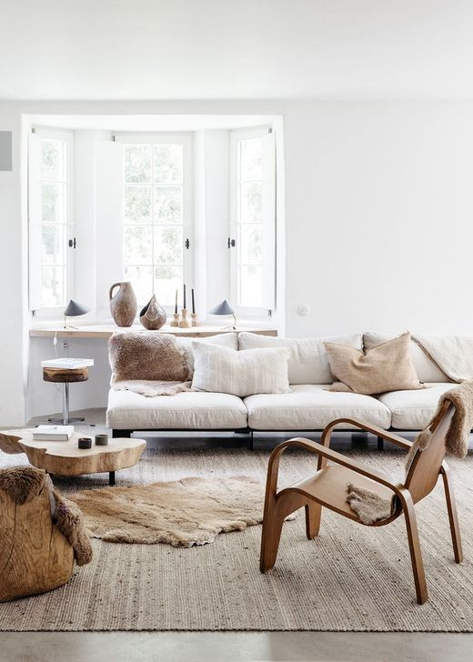 Easy And Simple Neutral Living Room Design Ideas 34