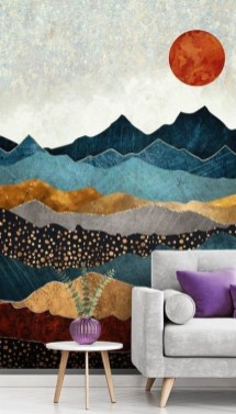 Gorgeous Wall Painting Ideas That So Artsy 19
