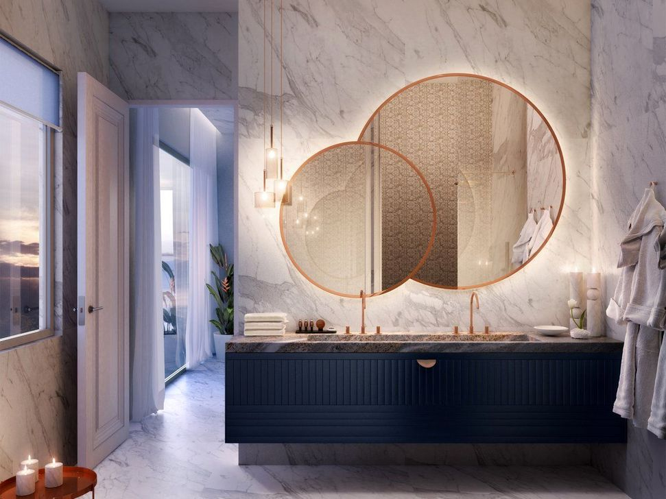 54 Luxurious Bathroom Mirror Design Ideas For Bathroom Homystyle