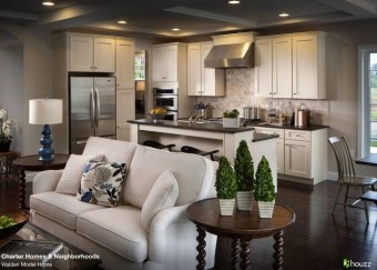 Magnificient Open Plan Kitchen With Feature Island Ideas 32