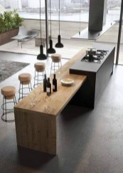 Magnificient Open Plan Kitchen With Feature Island Ideas 34