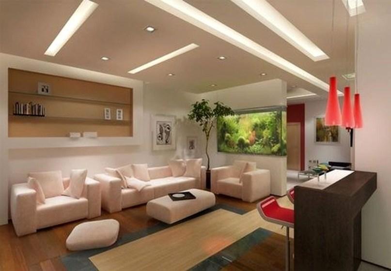 Modern Aquarium Partition Ideas For Living Room 46