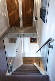 Perfect Glass Staircase Design Ideas 08