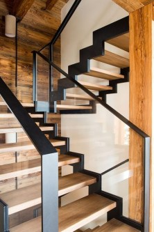 Perfect Glass Staircase Design Ideas 10