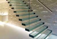 Perfect Glass Staircase Design Ideas 23