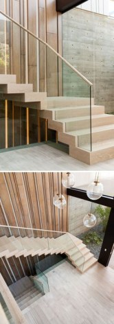 Perfect Glass Staircase Design Ideas 26