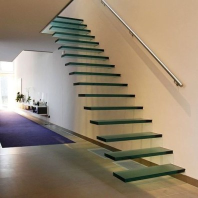 Perfect Glass Staircase Design Ideas 33