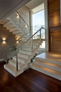 Perfect Glass Staircase Design Ideas 45