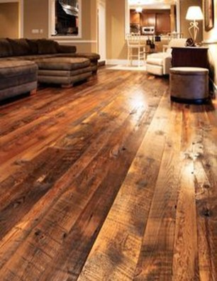 Rustic Wooden Flooring Ideas For The New House 11