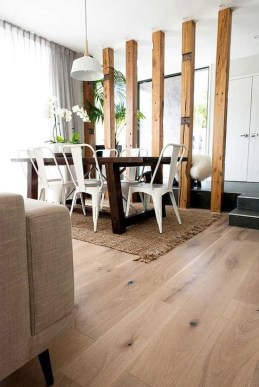 Rustic Wooden Flooring Ideas For The New House 19