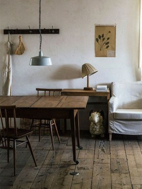 Rustic Wooden Flooring Ideas For The New House 42
