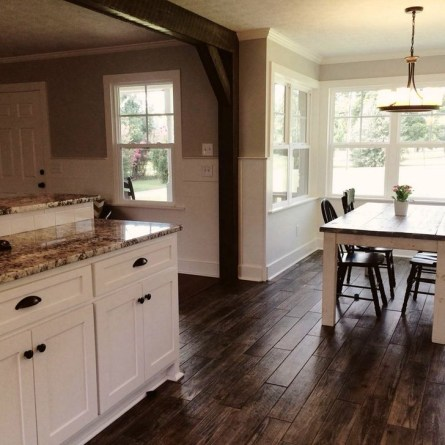 Rustic Wooden Flooring Ideas For The New House 49