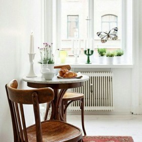 Simple Dining Room Design Ideas For Small Space 47