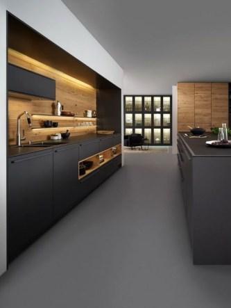 Stunning Dark Grey Kitchen Design Ideas 08