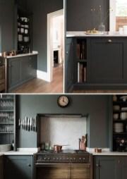 Stunning Dark Grey Kitchen Design Ideas 25