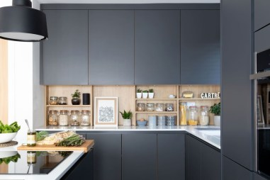 Stunning Dark Grey Kitchen Design Ideas 27