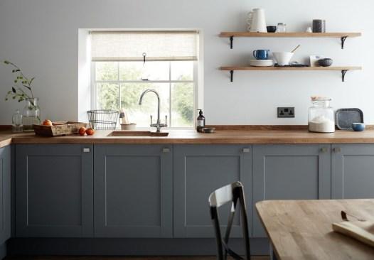 Stunning Dark Grey Kitchen Design Ideas 30