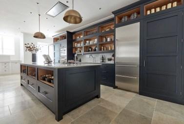 Stunning Dark Grey Kitchen Design Ideas 36