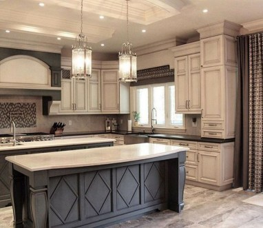 Stunning Dark Grey Kitchen Design Ideas 43