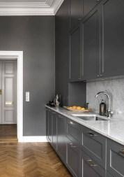 Stunning Dark Grey Kitchen Design Ideas 47