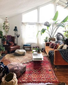 Totally Inspiring Bohemian Apartment Decor On A Budget 05