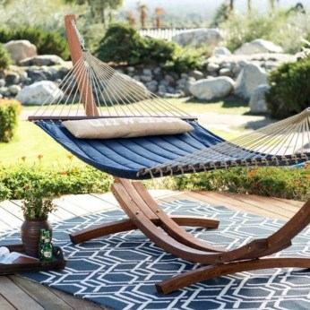 Affordable Backyard Hammock Decor Ideas For Summer Vibes 29