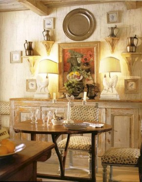 Amazing Dining Room Design Ideas With French Style 42