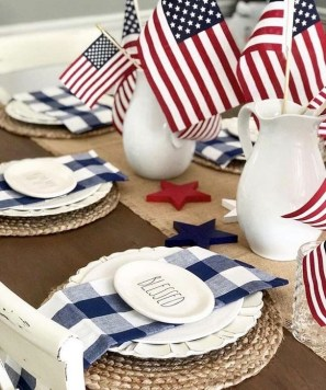 Awesome 4th Of July Home Decor Ideas On A Budget 34