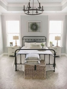 Charming Bedroom Furniture Ideas To Get Farmhouse Vibes 21