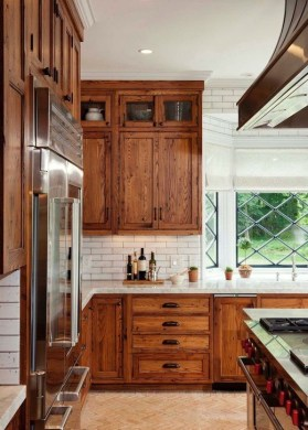 Contemporary Wooden Kitchen Cabinets For Home Inspiration 36
