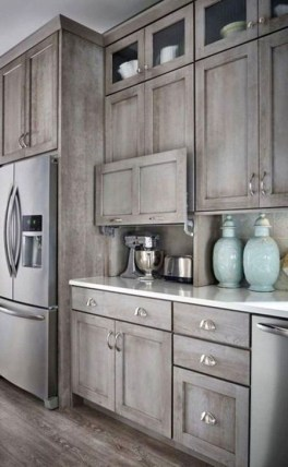 Contemporary Wooden Kitchen Cabinets For Home Inspiration 48
