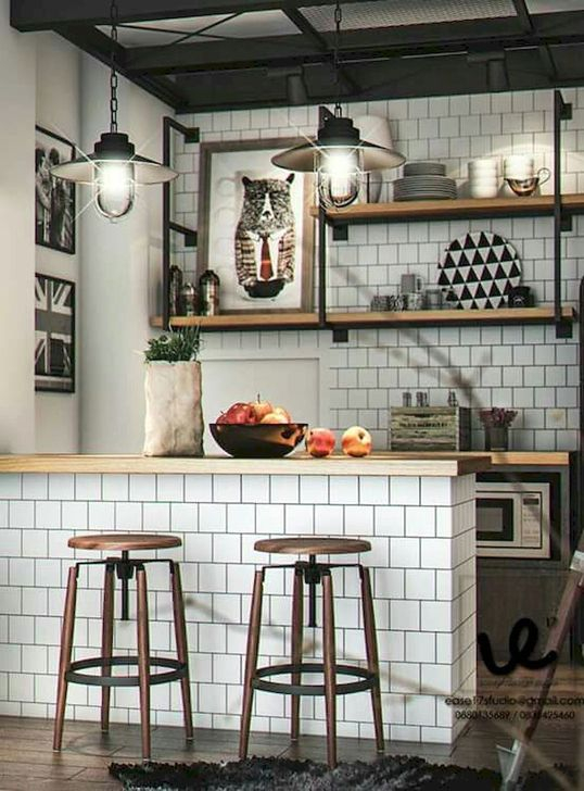 Cozy Small Kitchen Design Ideas On A Budget 44